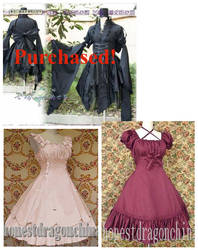 Dresses for my stock