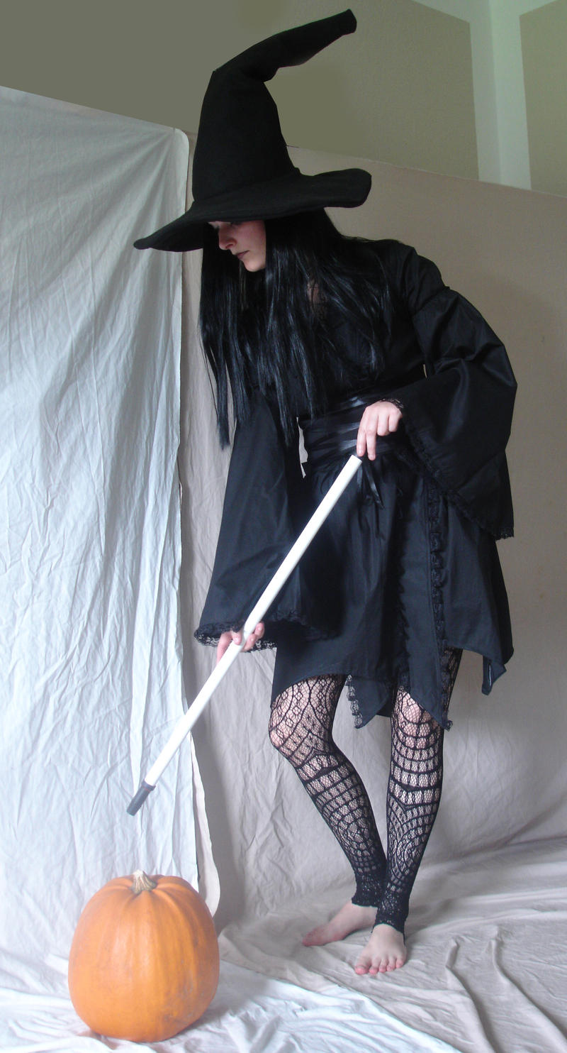 Gothic Witch 4 by mizzd-stock