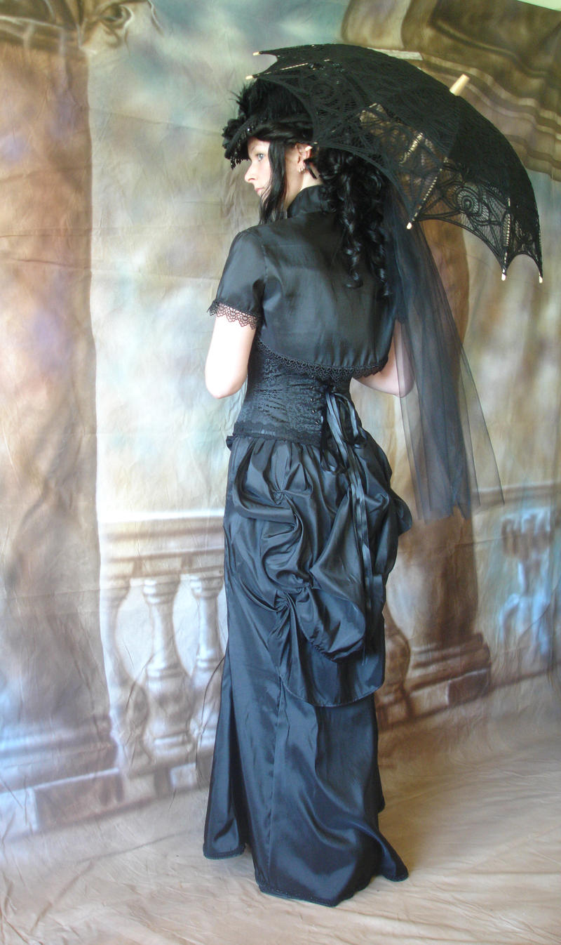 Black Victorian 2 by mizzd-stock