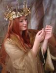 Golden Maiden Portrait 1