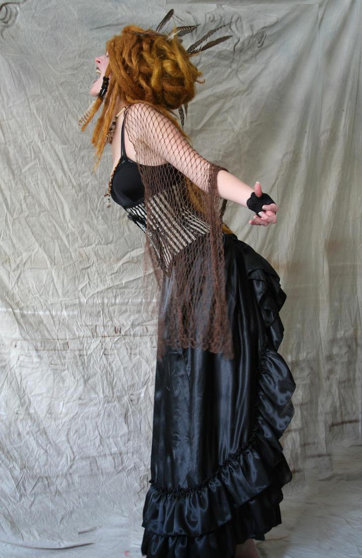 Raven Priestess 3 by mizzd-stock