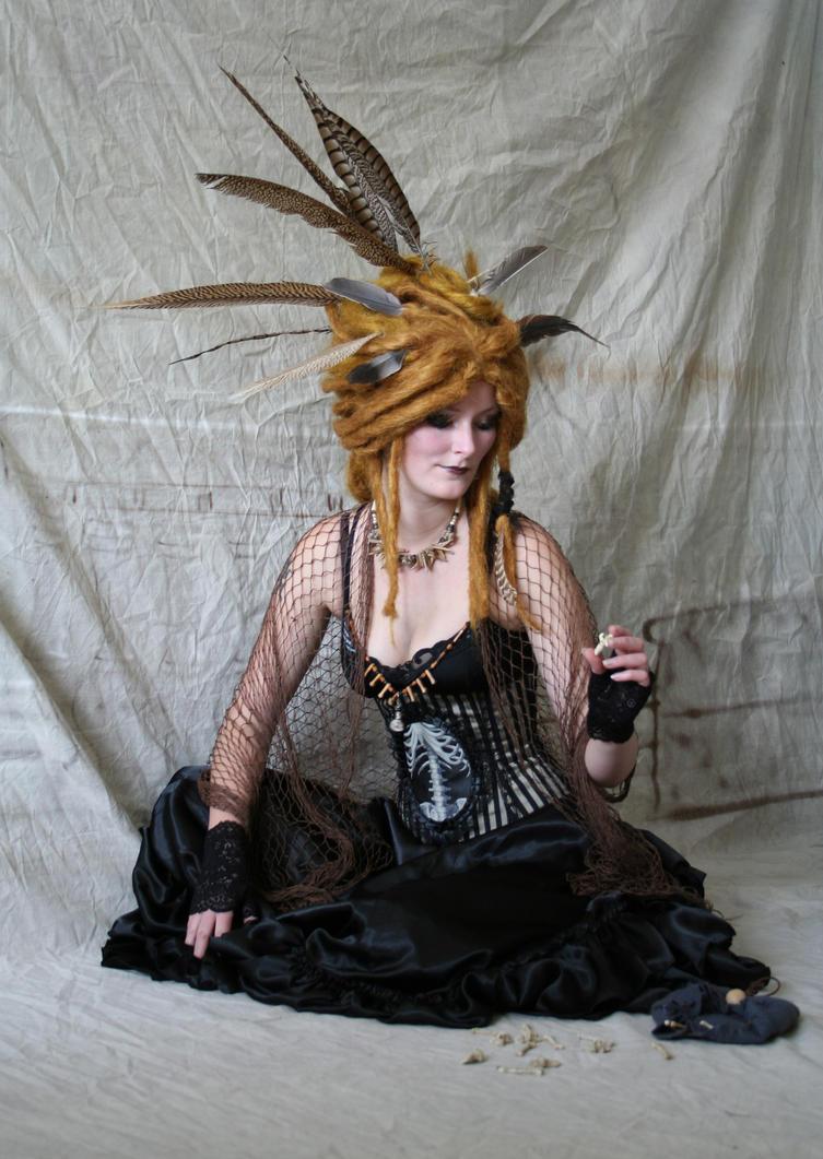 Raven Priestess 8 by mizzd-stock
