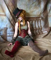 Steampunk Circus Doll 6