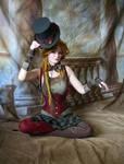 Steampunk Circus Doll 7