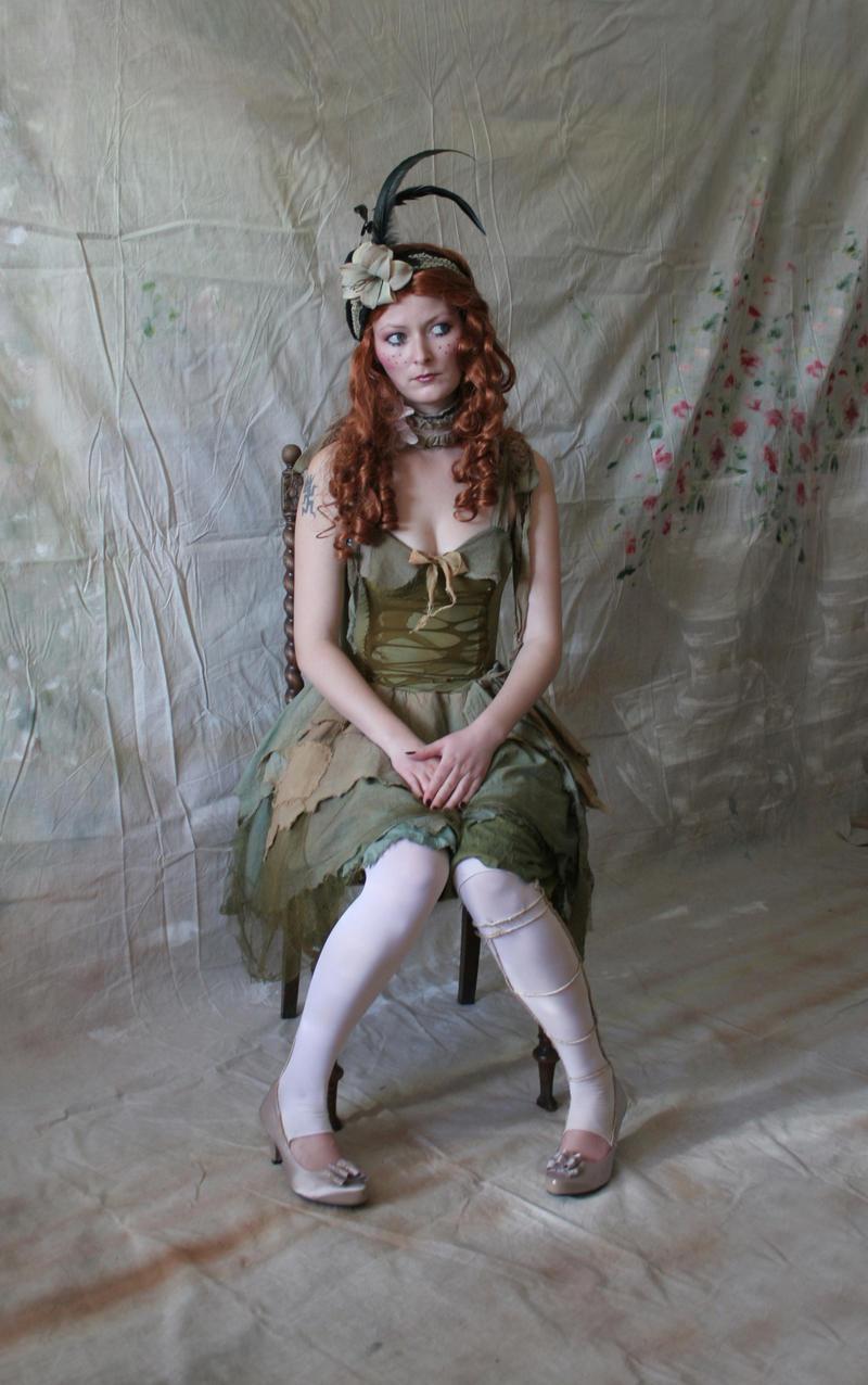 Green Rag Doll 5 by mizzd-stock