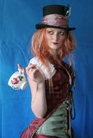 Lady Mad Hatter Portrait 5 by mizzd-stock