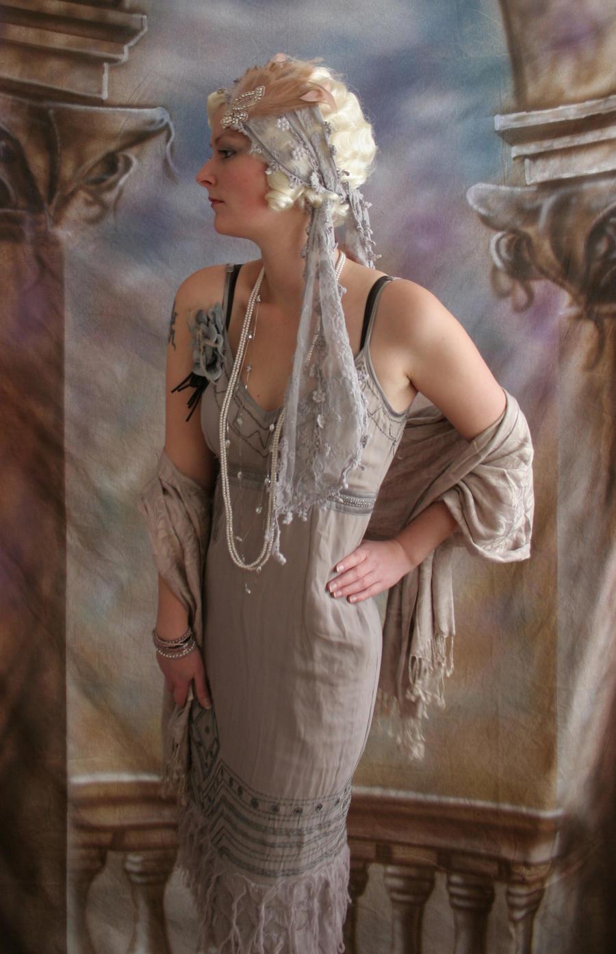 Flapper Lady 1 by mizzd-stock