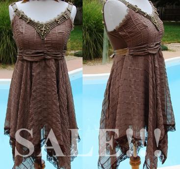 Autumn Fairy Dress by mizzd-stock