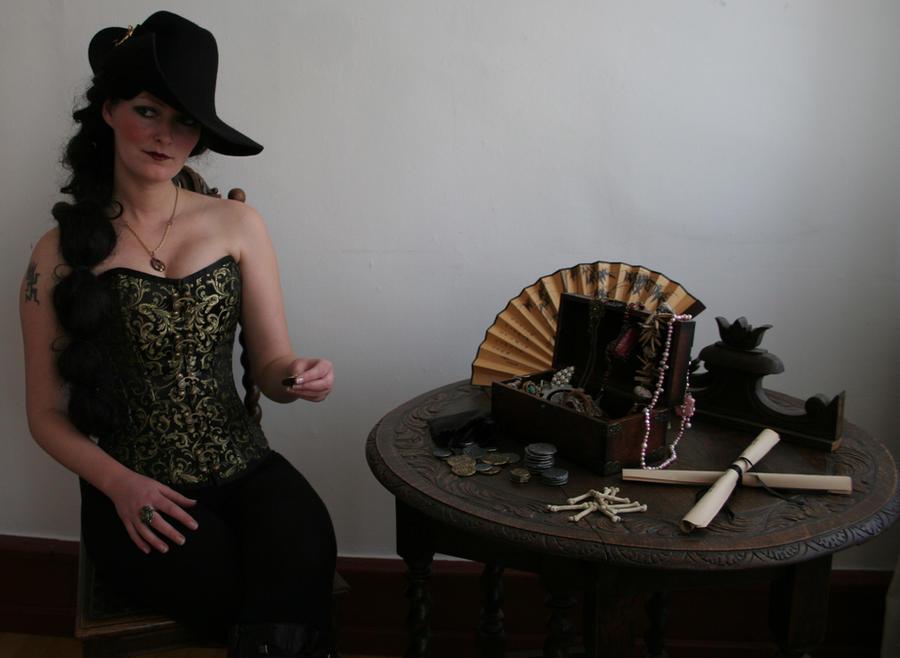 Pirates - Captain Ebony Black 7 by mizzd-stock