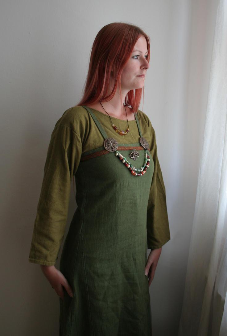 Authentic Viking Maiden Portrait 1 by mizzd-stock