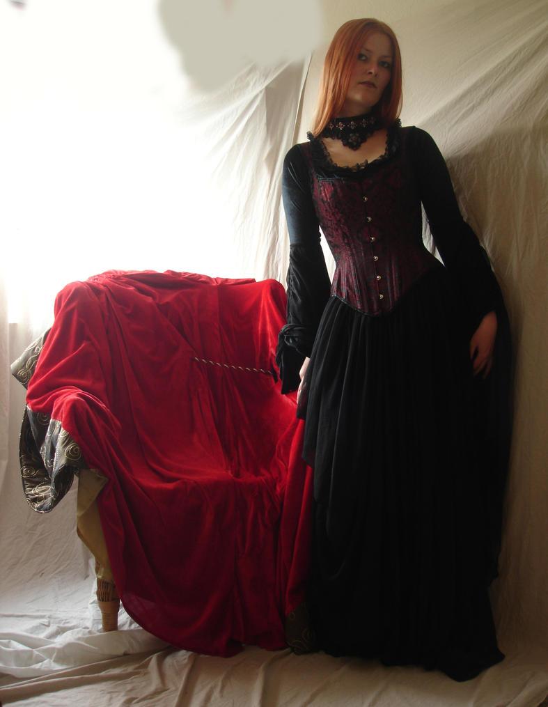 Gothic Vampire 1 by mizzd-stock