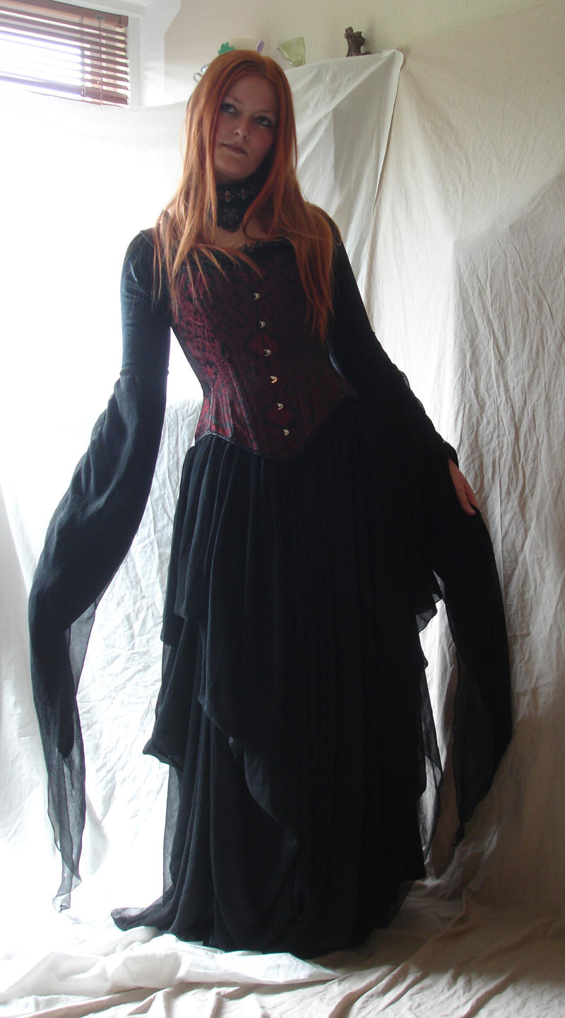 Gothic Vampire 3 by mizzd-stock