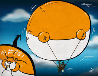 Fidget Airlines by atmanryu