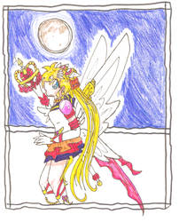 Eternal Sailor Moon by the-blue-fish