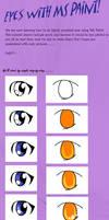 MS Paint eye tutorial.