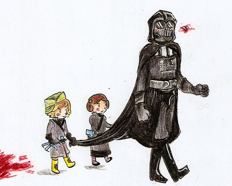 The Vaders Family by the-blue-fish