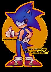 Sonic The Hedgehog :28TH ANNIVERSARY: