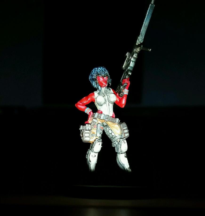 Shizue Wyrick figurine WIP 5 by Ryuondo