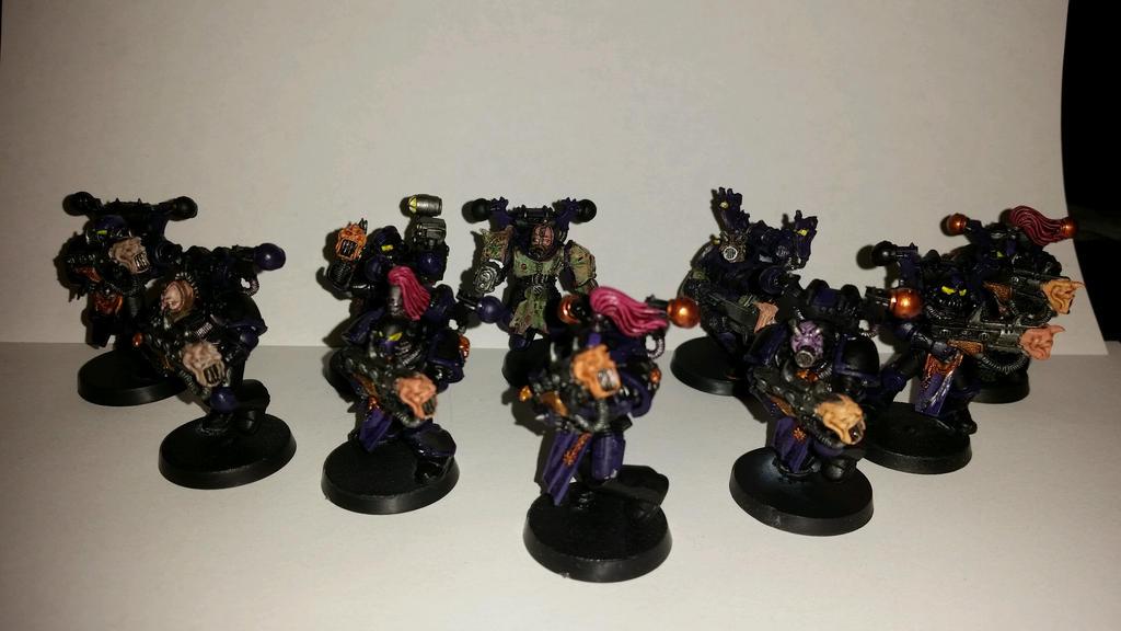 Noise  Marine Comission Squad 2 WIP by Ryuondo
