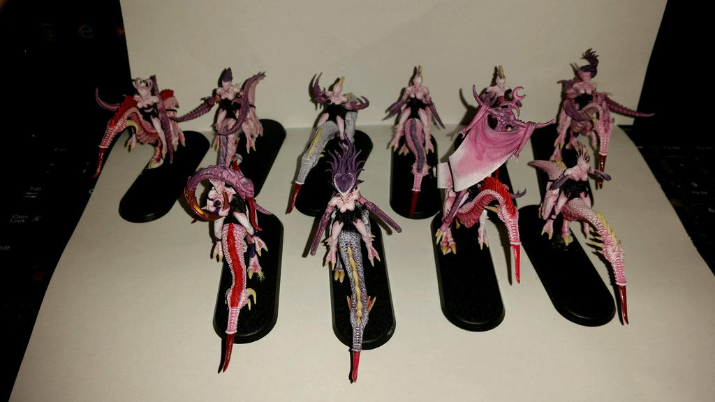 Seekers of Slaanesh commission by Ryuondo