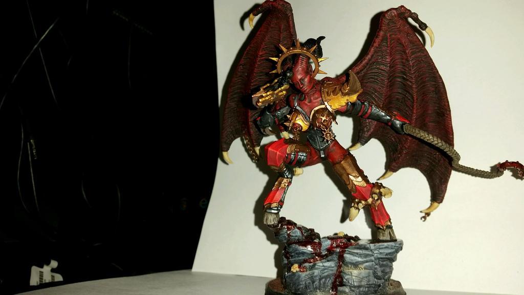 Bloodthirster progress by Ryuondo