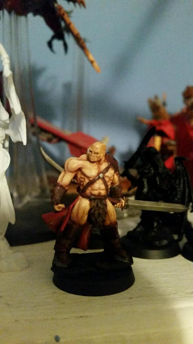 Kilgore the Red Barbarian by Ryuondo