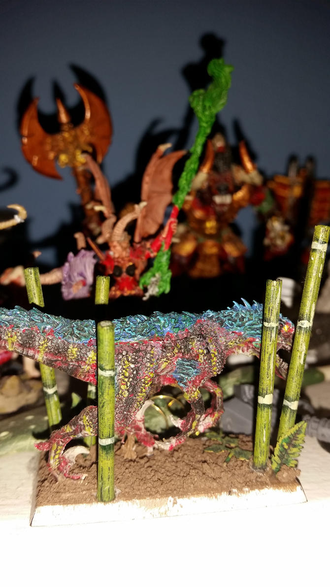 Deathtrap the Abyssal Battle Deinonychus by Ryuondo