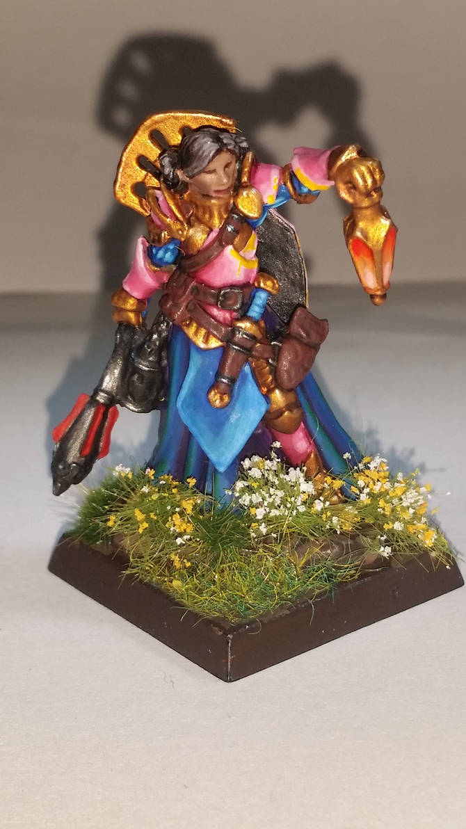 Esmerelda the Paladin of Sune 1