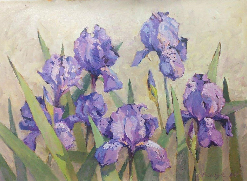 Irises by NaariaVlada