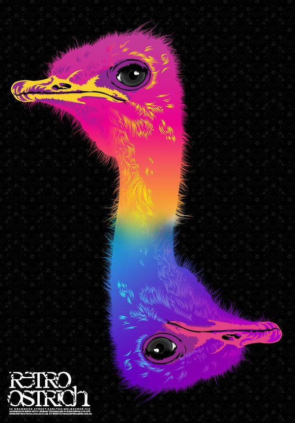 retro birdy by yib