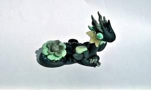 Black Stone Flower Dragon