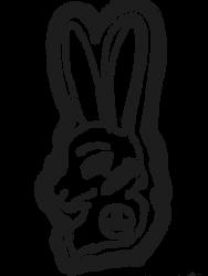 Rabbit Badge