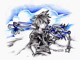 Sora and his Oathkeeper