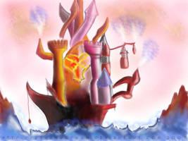 Hollow Bastion by RevanRayWan
