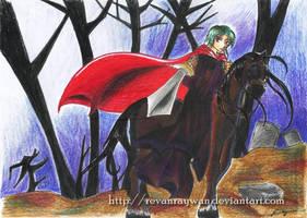 The Dark Knight by RevanRayWan
