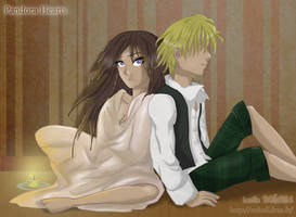 Pandora Hearts Alice and Oz by RevanRayWan