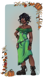 Voodoo witch Nora by RevanRayWan