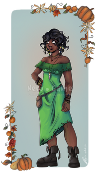 Voodoo witch Nora