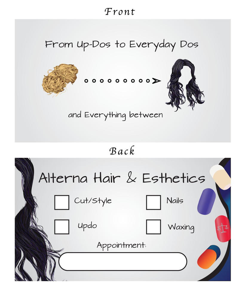 Hair Salon Card by B-Rye1001