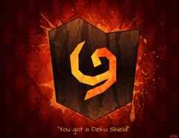 You Got A Deku Shield by B-Rye1001