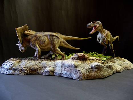 Chasmosaurus and Gorgosaurus 1