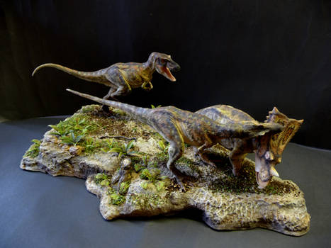 Chasmosaurus and Gorgosaurus 3