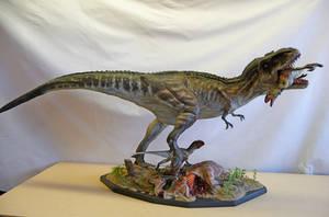 Oxmox T.rex diorama by Baryonyx-walkeri