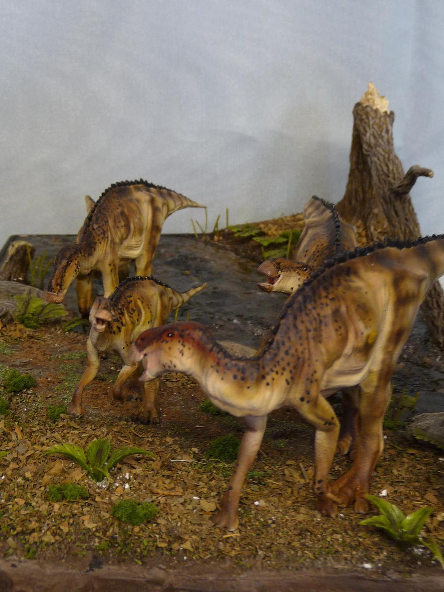 Brachylophosaurus by B...