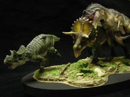 Predation Scene by Baryonyx-walkeri