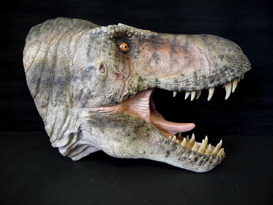 'Stan' T.rex Bust by Baryonyx-walkeri