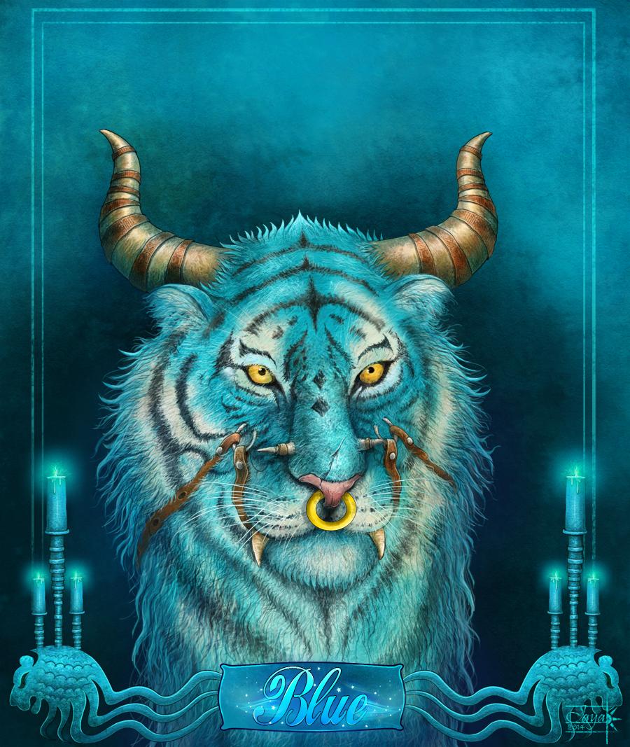 Fantasy Blue Tiger   Photo#9