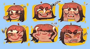 Huhhh i'm selling Emotes guys :)) 5$ 6 emotes or 8