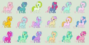 Pony Adopt #12 (OPEN)