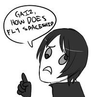 GAIZ HOW DOES FLY SPACESHIP by TOXiC-ToOtHpAsTe